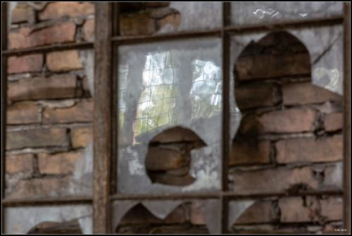 Fenster in Beelitz Heilstätten