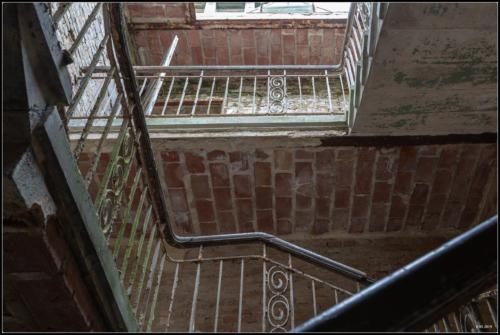 Treppen der Beelitz Heilstätten