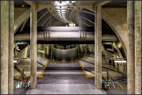 Neue U-Bahn Haltestelle