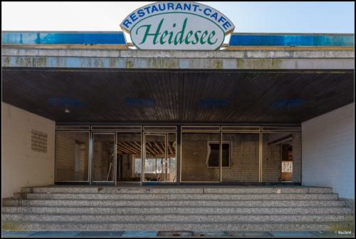 verlassenes Restaurant