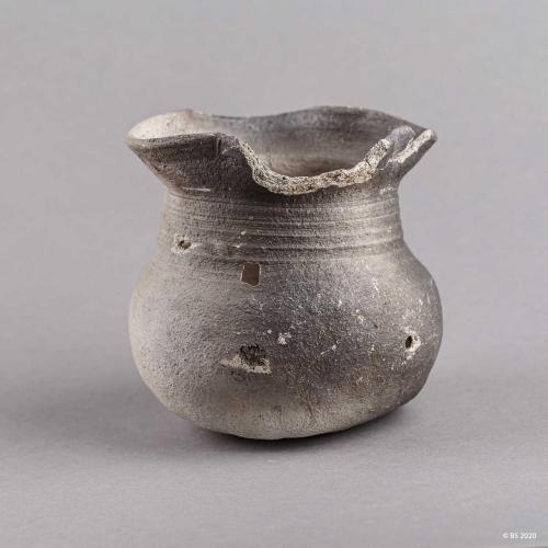 Krug , Topf aus Keramik