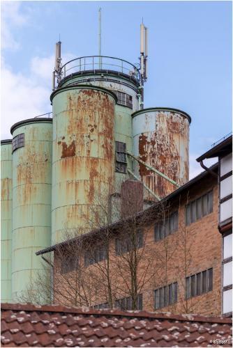 Cardenap Mühle mit Silos