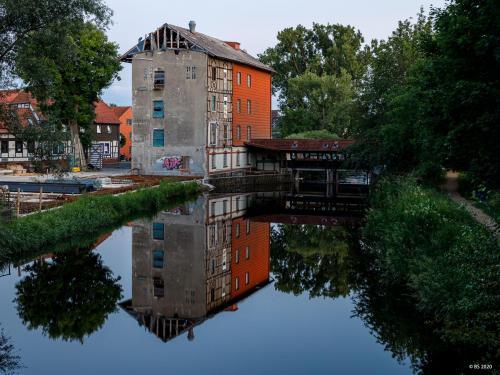 Cardenap Mühle beim Umbau