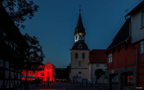 Night of Light am Rathaus